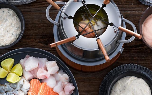 Bouillon pour fondue pour poisson